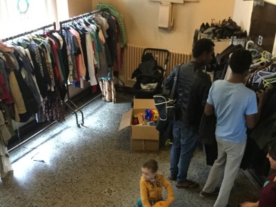 Clothes bank 1